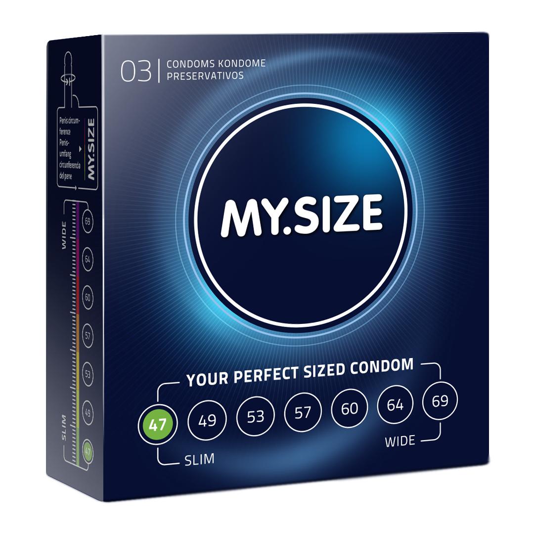 Kondomy MY.SIZE 47 mm 3 ks