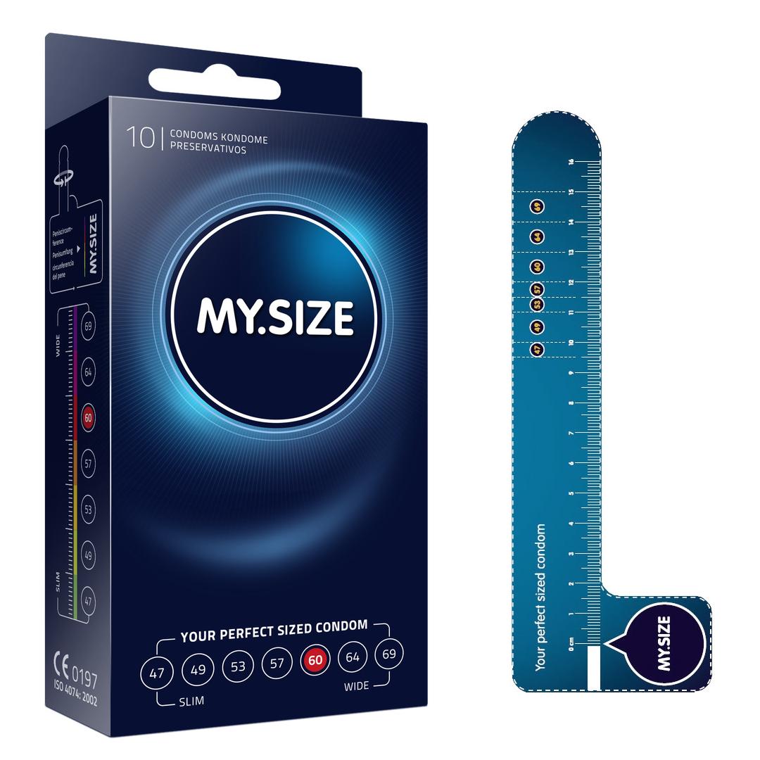 Kondomy My size 10ks - 60 mm