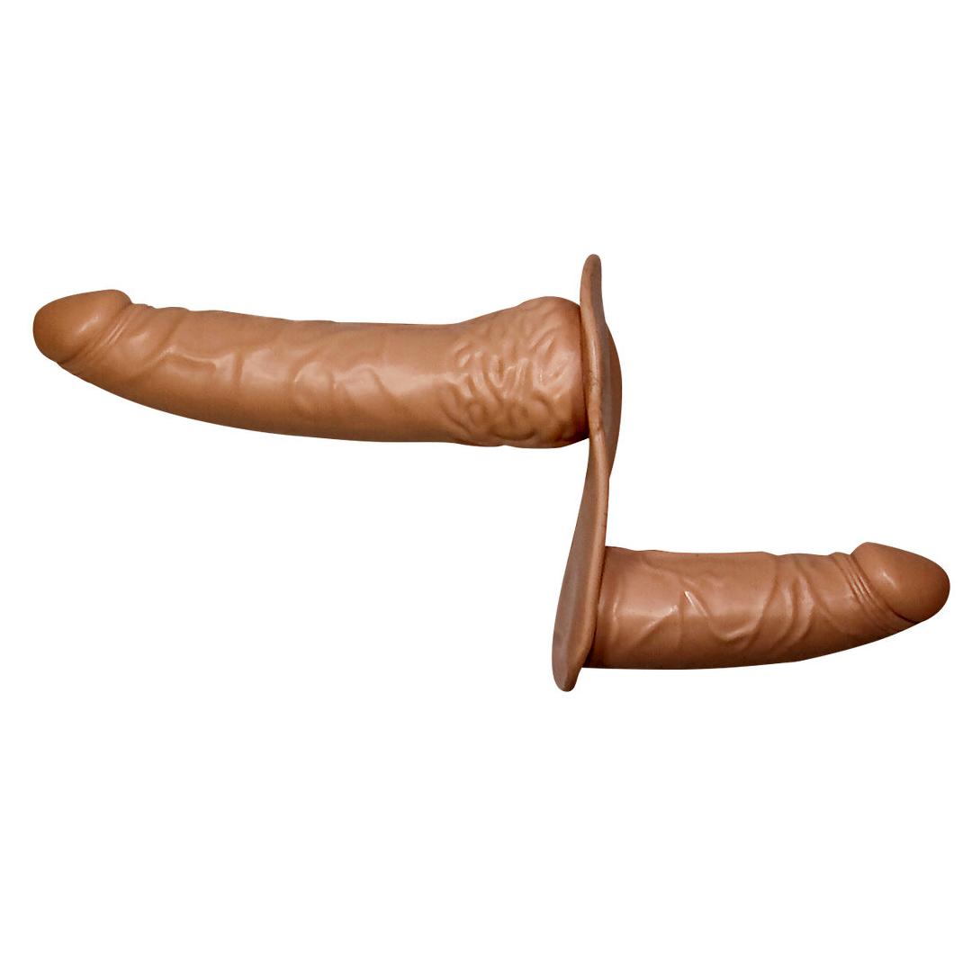 Dvojitý připínací penis Double Dong Strap-On