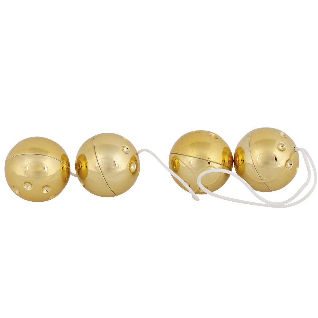 You2Toys 4 Gold Pleasure Balls