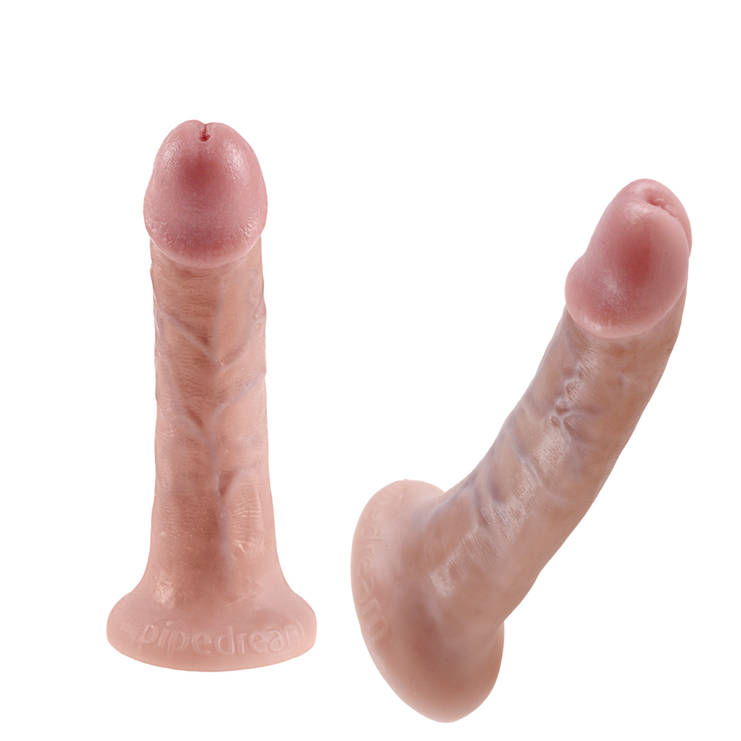 Realistické dildo King Cock 6in. Flesh