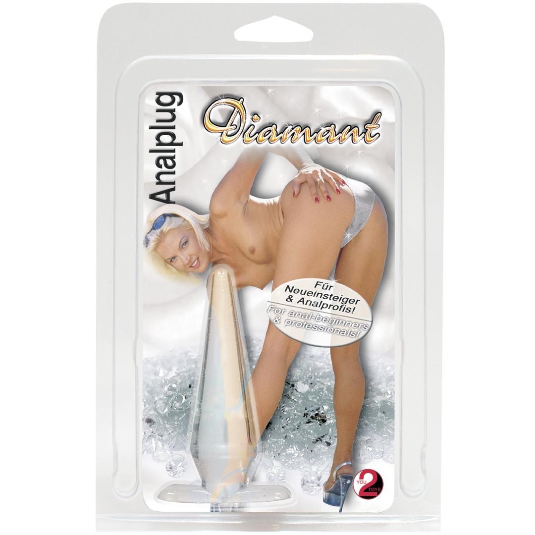 Anální kolík - Diamant Analplug