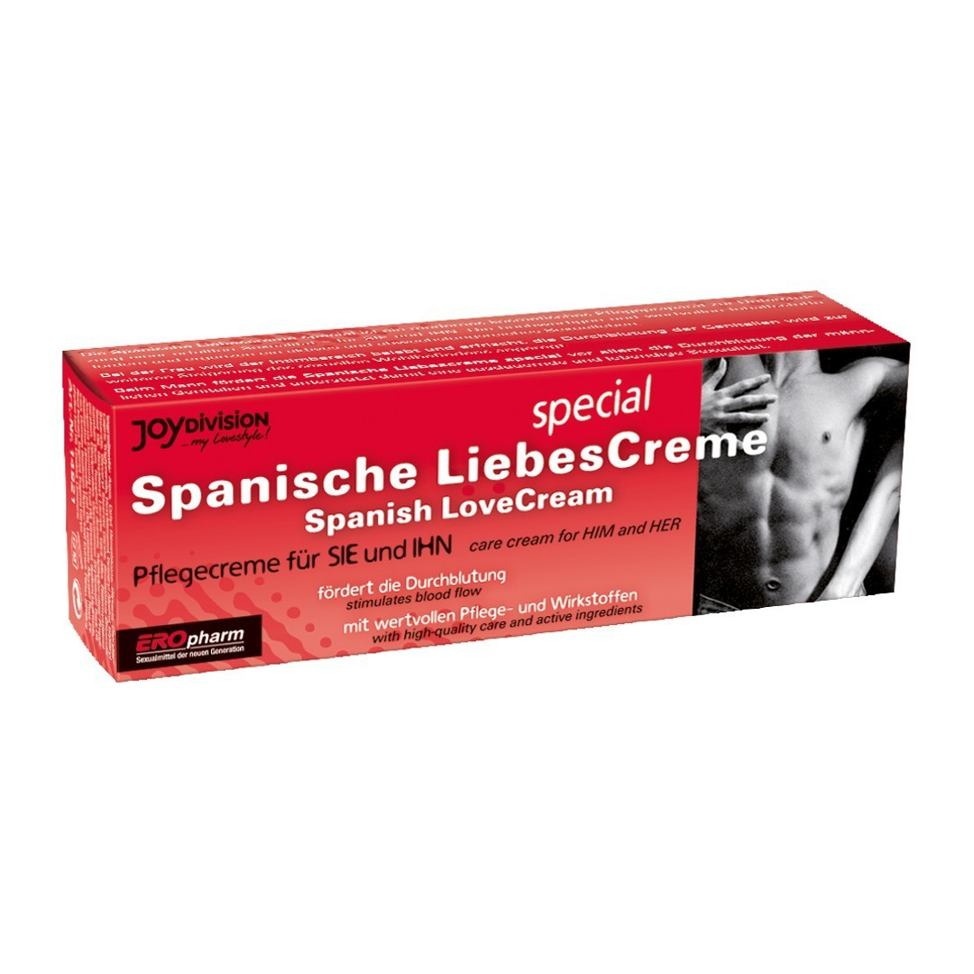 Španělské mušky krém pro ženy i muže Spanische Liebescreme