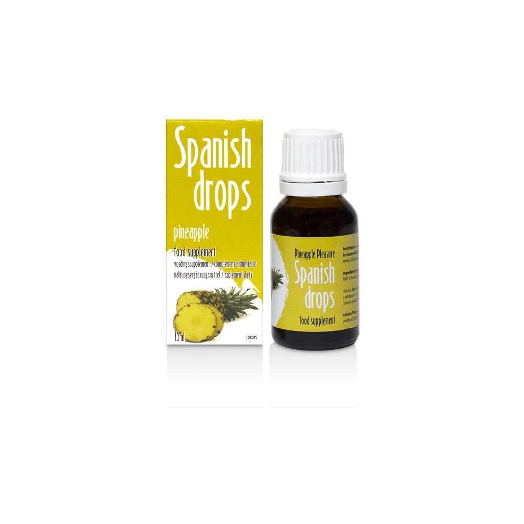 Španělské mušky ananas - SpanishFly Pineapple pleasure 15ml