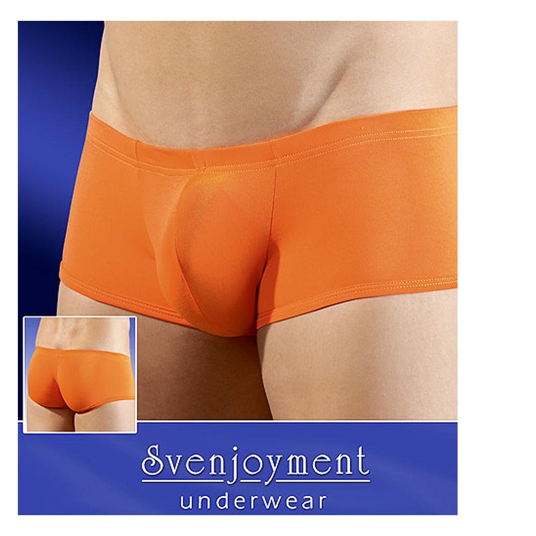 Oranžové boxerky Erik, L
