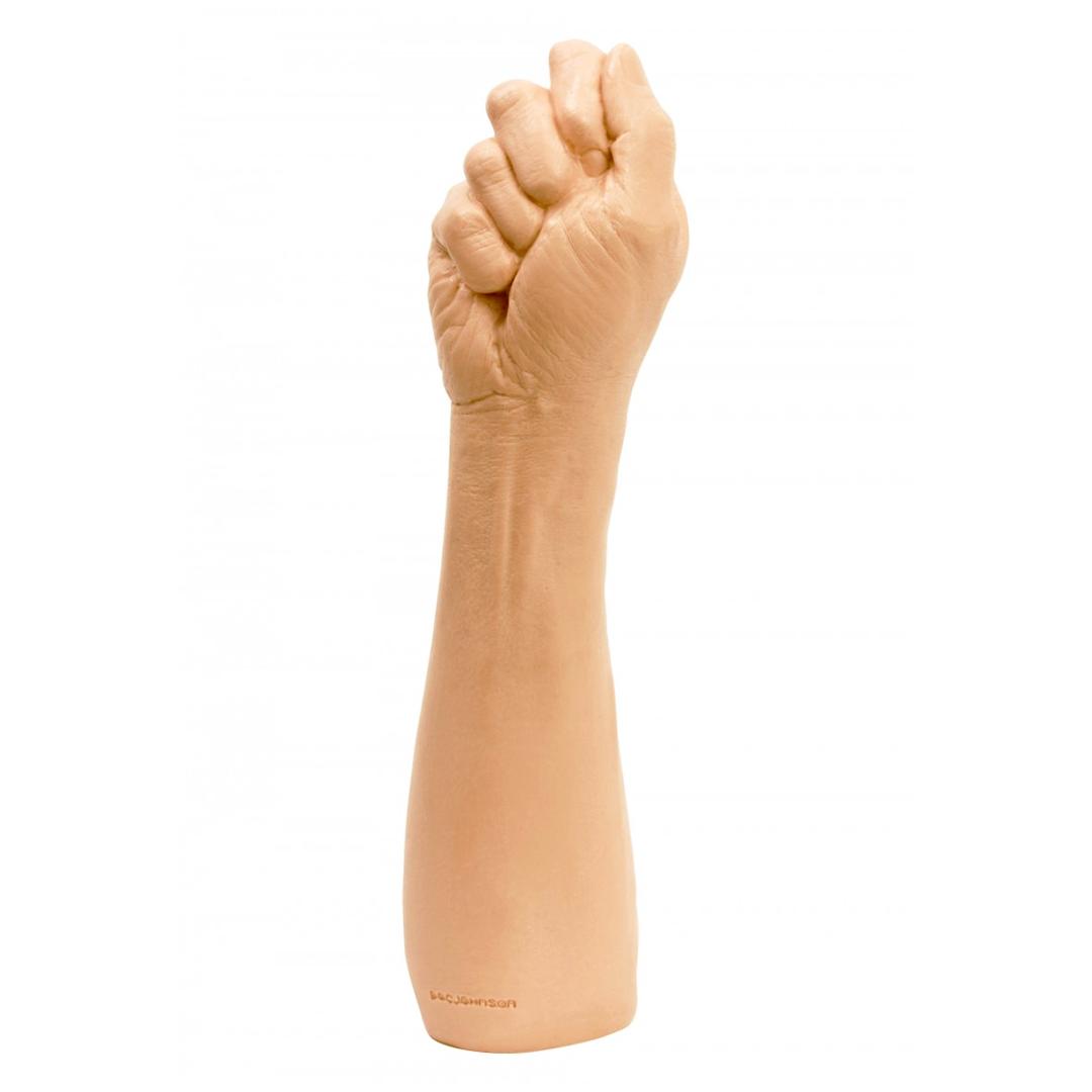 Tělový mastubátor v podobě ruky se sevřenou pěstí