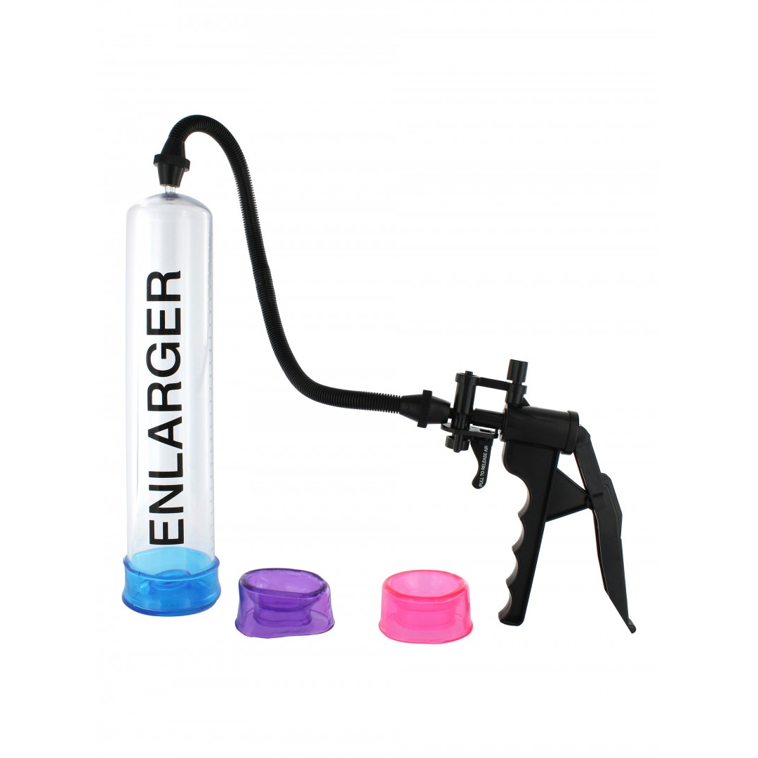 Vakuová pumpa pro muže a 3 manžetami na penis X-Factor Enlarger