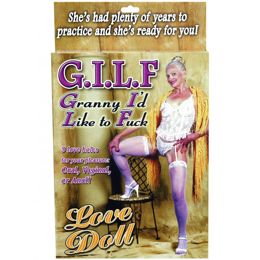 Nafukovací panna babička Gilf Doll