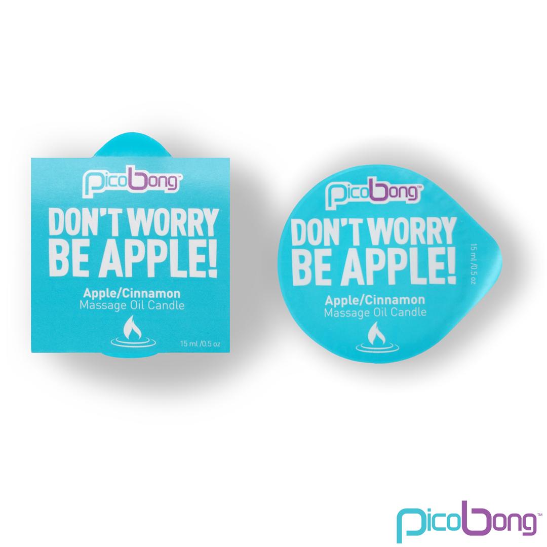 Masážní svíčka Picobong jablko & skořice