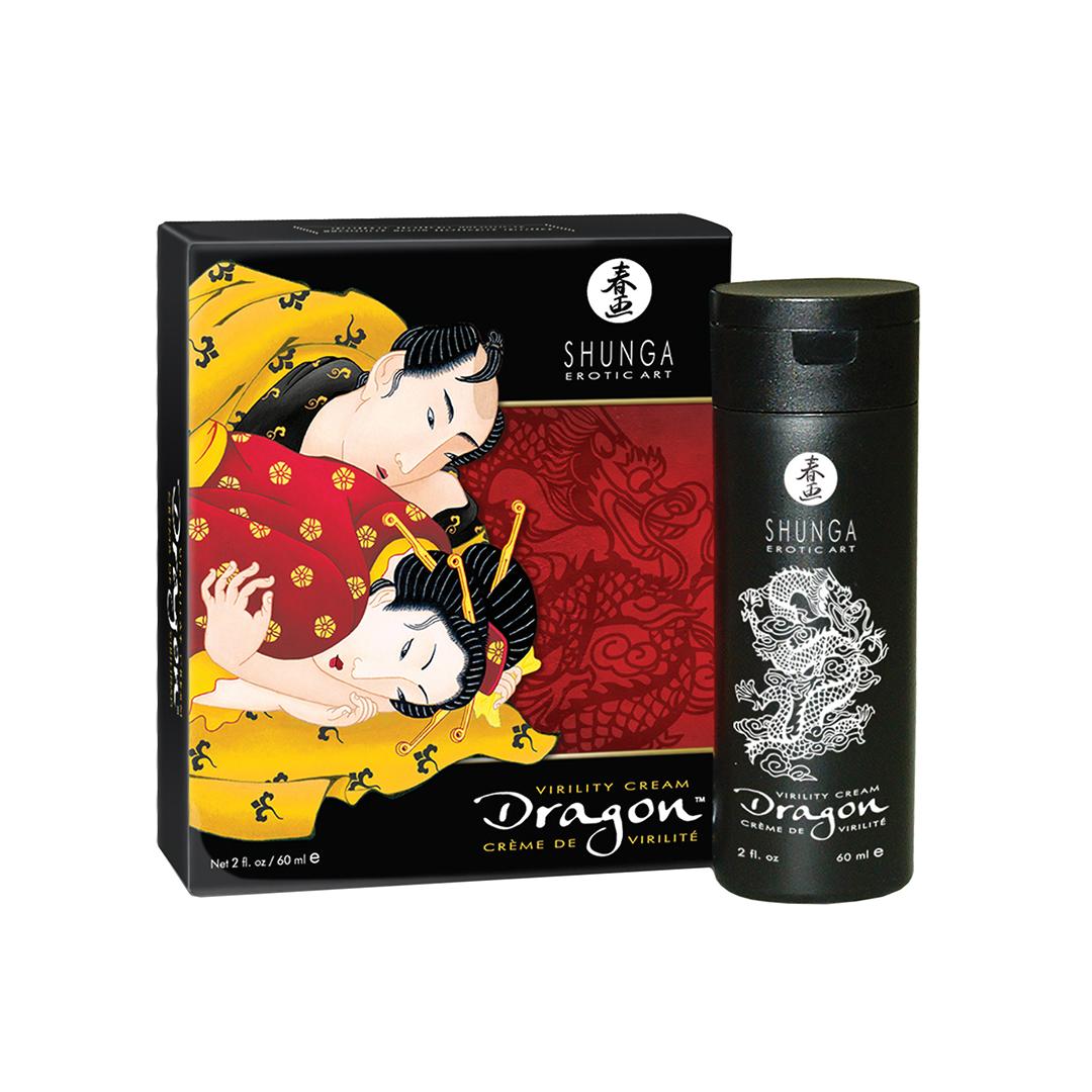 Shunga Dragon Virility krém pro muže