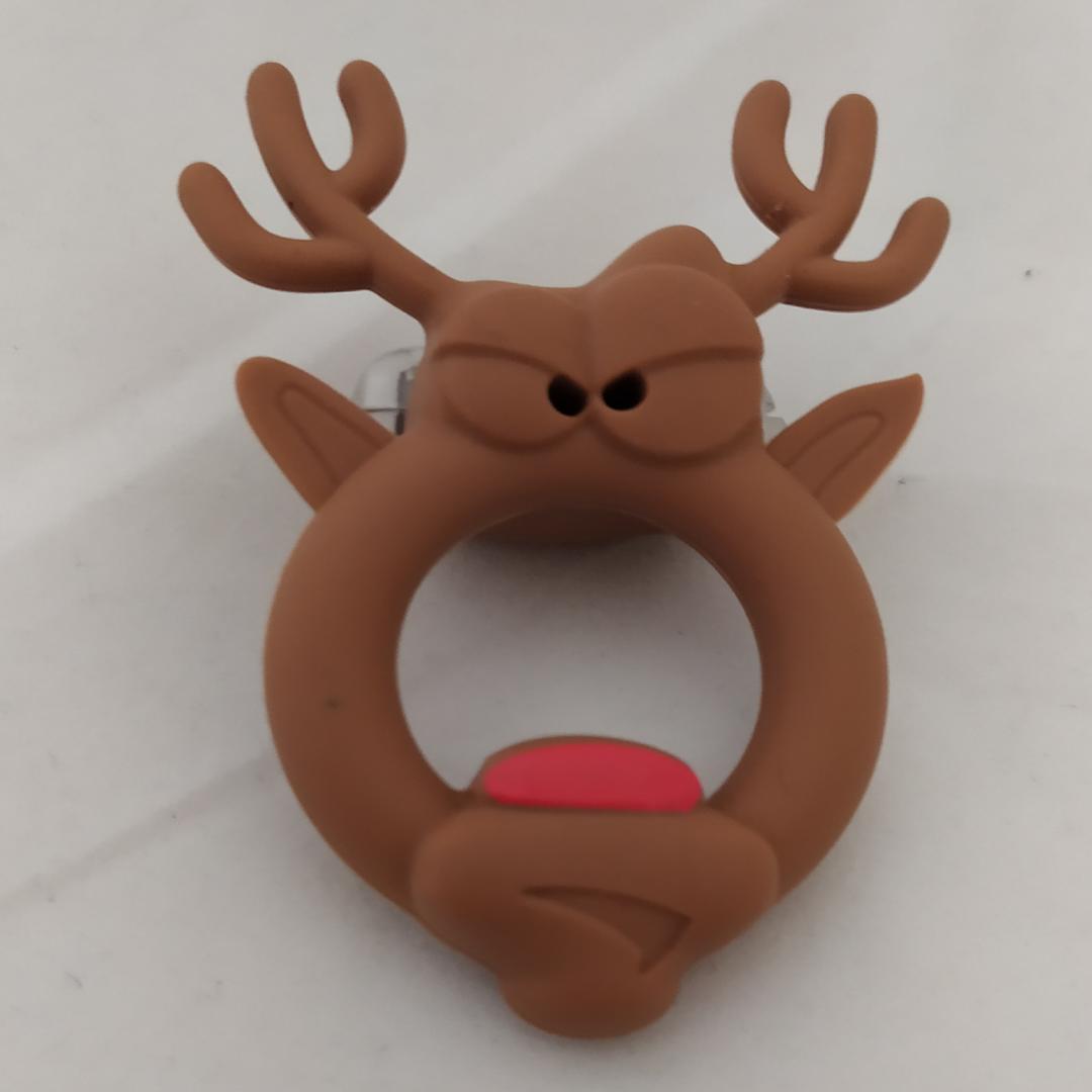 Vibrační erekční kroužek The Red Nosed Reindeer