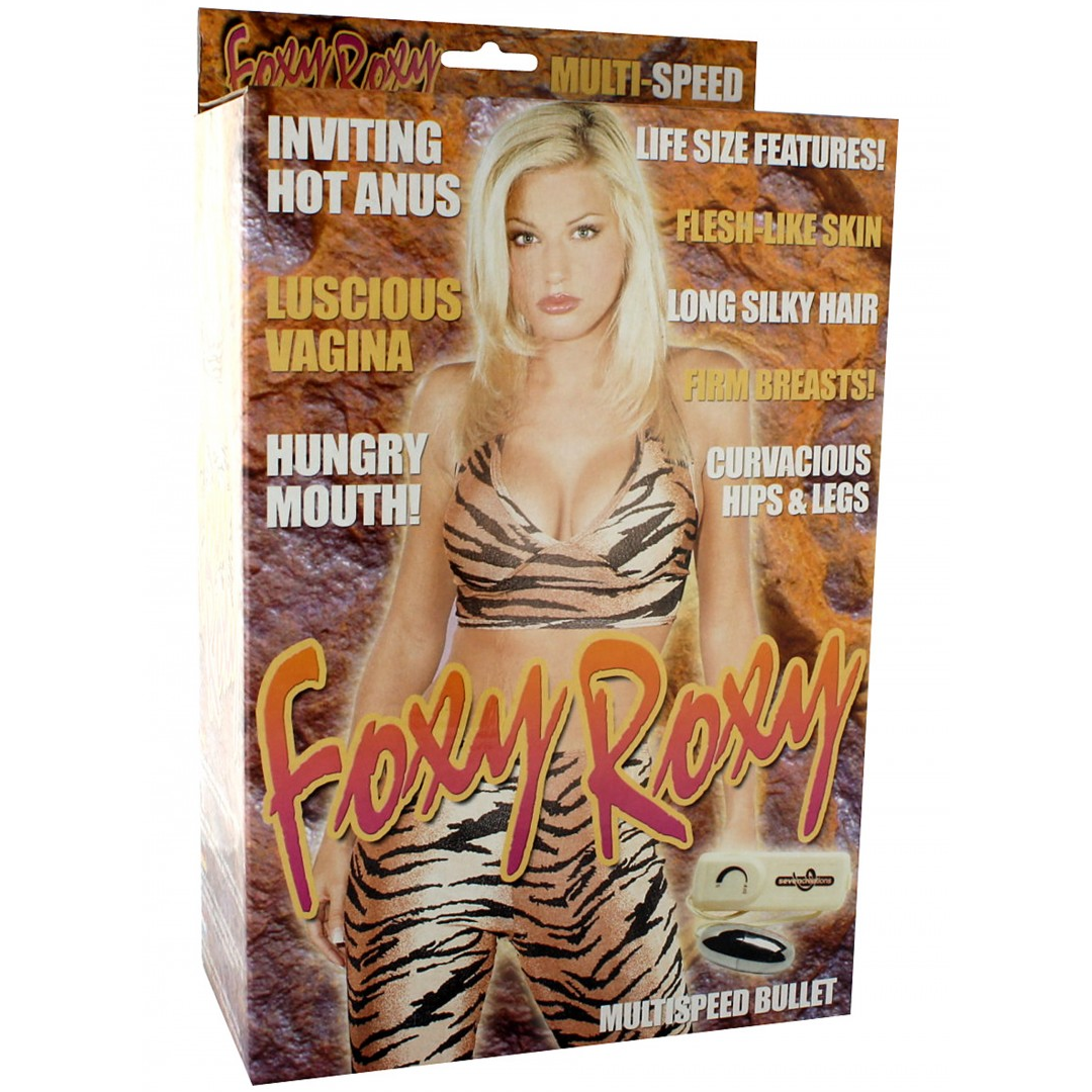 Vibrační panna Foxy Roxy - Foxy Roxy Sex Doll